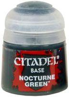 "Краска акриловая ""Citadel Base"" (nocturne green; 12 мл)"