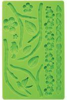 """Мат (молд) кондитерский для нанесения рисунка на мастику """"Природа"""" (арт. WLT-409-2565)"""