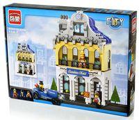"""Конструктор """"City. Отель Саншайн"""" (628 деталей)"""
