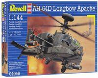 "Сборная модель ""Вертолет AH-64D Longbow Apache"" (масштаб: 1/144)"