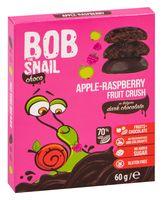 """Конфеты фруктовые """"Bob Snail. Яблоко-малина в черном бельгийском шоколаде"""" (60 г)"""