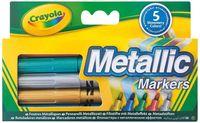 "Фломастеры ""Crayola. Металлик"" (5 цветов; арт. 58-5054)"