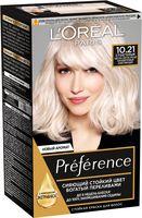 """Краска для волос """"Preference"""" (тон: 10.21, светло-русый перламутровый осветляющий)"""