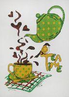 """Вышивка крестом """"Время чая"""""""