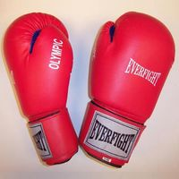 """Перчатки боксёрские """"Olympic"""" EGB-524 (12 унций; красные)"""