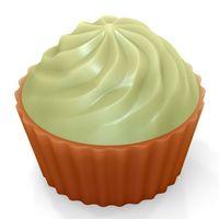 """Форма для изготовления мыла """"Кейк верхушка. Крем"""""""