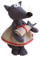 """Набор для шитья из ткани """"Волчица"""""""
