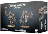 Warhammer 40.000. Adeptus Sororitas. Penitent Engines (52-22)