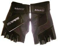 """Перчатки для фитнеса """"Toronto"""" (чёрные; M)"""