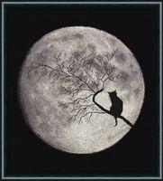 """Вышивка крестом """"Лунная соната"""" (270х260 мм)"""