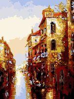 """Картина по номерам """"Канал в Венеции"""" (300х400 мм)"""