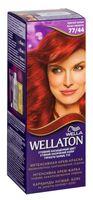 """Крем-краска для волос """"Wellaton. Интенсивная"""" тон: 77/44, красный вулкан"""