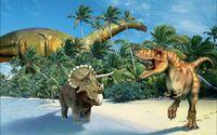 """Пазл """"В мире животных. Динозавры"""" (160 элементов)"""