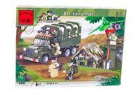 """Конструктор """"Combat Zones. Военный грузовик"""" (308 деталей)"""