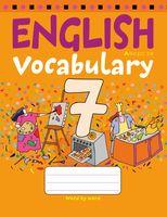 Тетрадь-словарик по английскому языку. 7 класс