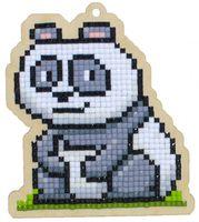 """Алмазная вышивка-мозаика """"Брелок. Панда Чакки"""" (88х100 мм)"""