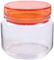 """Банка для сыпучих продуктов стеклянная """"Colorlicious Orange"""" (500 мл)"""