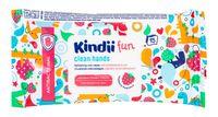 """Влажные салфетки детские """"Kindii fun. Антибактериальные"""" (15 шт.)"""