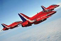 "Самолет ""Hawk T.Mk.1 Red Arrows"" (масштаб: 1/72)"