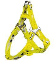 "Шлея для собак ""Modern Art Harness Woof"" (размер XXS-XS, 25-35 см, желтый, арт. 15200)"