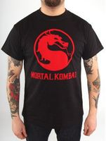 "Футболка ""Mortal Kombat - Classic Logo""  (размер - XL)"