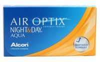 "Контактные линзы ""Air Optix Night and Day Aqua"" (1 линза; -4,5 дптр)"