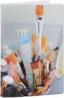 """Обложка на паспорт """"Art brushes"""""""