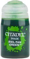 """Краска акриловая """"Citadel Shade"""" (biel-tan green; 24 мл)"""