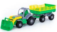 """Трактор с прицепом и ковшом """"Крепыш №2"""""""