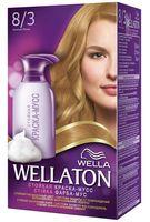 """Краска-мусс для волос """"Wellaton"""" (тон: 8/3, золотой песок)"""