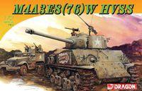"""Советский танк """"M4A3E8(76)W HVSS"""" (масштаб: 1/72)"""