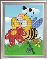 "Вышивка бисером ""Пчелка"" (160х120 мм)"