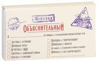 """Шоколад молочный """"Шоколад Объяснительный"""" (50 г)"""