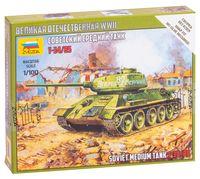 """Сборная модель """"Советский танк Т-34/85"""" (масштаб: 1/100)"""
