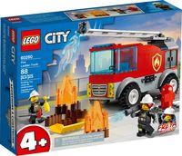 """LEGO City """"Пожарная машина с лестницей"""""""