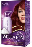 Краска-мусс для волос WELLATON (тон: 55/46, экзотический красный)