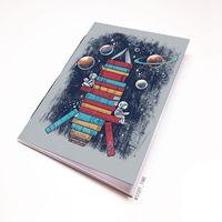 "Блокнот ""Ракета из книг"" (А5; арт. 986)"