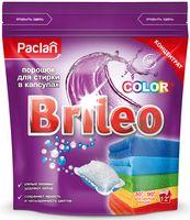 """Порошок для стирки в капсулах """"Brileo. Color"""" (12 шт.)"""