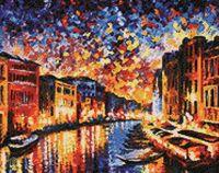 """Алмазная вышивка-мозаика """"Гранд-канал Венеция"""" (480х380 мм)"""