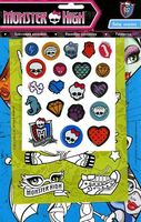 Monster High. Коллекция наклеек