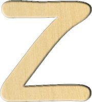 """Заготовка деревянная """"Английский алфавит. Буква Z"""" (27х30 мм)"""