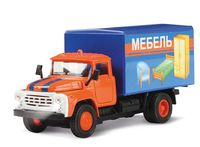 "Модель машины ""ЗИЛ 130. Мебель"" (масштаб: 1/43)"