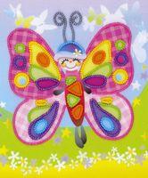"Вышивка бисером ""Сказочная бабочка"" (150х180 мм)"