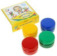 "Краски пальчиковые ""Азбука цвета"" (4 цвета; арт. 91-4.60-00)"