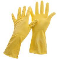 Перчатки хозяйственные резиновые (размер L; 1 пара)
