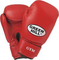 Перчатки боксёрские GYM BGG-2018 (12 унций; красные)