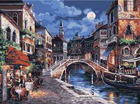 """Картина по номерам """"Гранд-канал в Венеции"""" (300х400 мм)"""