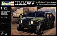 """Военный автомобиль """"HMMWV М 998"""" (масштаб: 1/72)"""