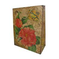 """Пакет бумажный подарочный """"Цветок"""" (32х26х12 см; арт. 10645974)"""