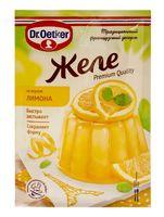"Желе ""Dr. Oetker. Со вкусом лимона"" (45 г)"